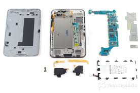 galaxy tab 2 7 0 teardown reveals efficient hardware layout and