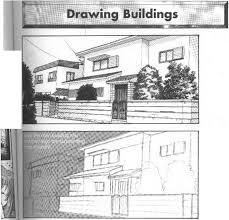 puffing characters into scenes and drawing backgrounds manga