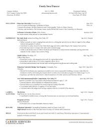 College Freshman Resume Samples by College Freshman Resume No Work Experience Resume For Your Job