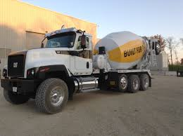 kenworth concrete truck the all new cat ct681 vocational truck in a sharp mixer
