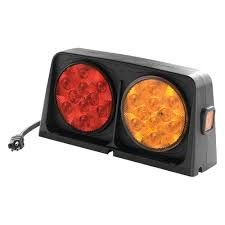 how to change bulb in wesbar tail light wesbar 54209 008 amber red led dual ag light with brake light