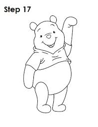coloring appealing sketch pooh bear coloring sketch