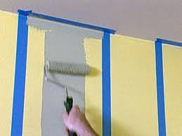 Wall Paintings Designs How To Paint Multiple Striped Walls How Tos Diy