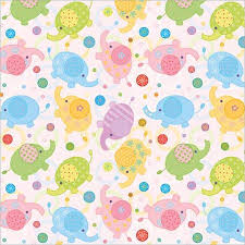 wrapping paper sheets buy flat wrap wrapping paper 19x27 2 sheets pkg baby in cheap