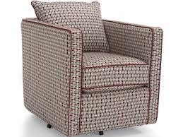 decor rest 2050 swivel chair w loose back cushion sheely u0027s