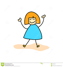 hand drawing happy kids stock images image 32842244