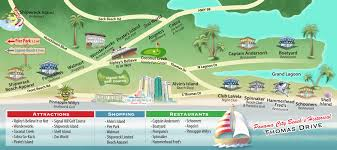 map of panama city panama city map of attractions shopping restaurants