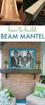 how to build a box beam mantel mantels beams and mantle
