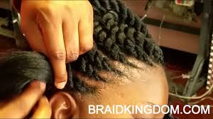ghanians hairstyle easy way to do ghana twist youtube