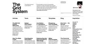 web layout grid template all about grid systems