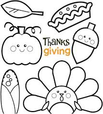 cutethanksgiving coloring pages coloring