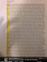 student rickrolls his physics inserting lyrics into paper