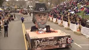 100 plymouth ma thanksgiving parade november in new