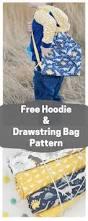 fossil rim free hoodie and drawstring backpack tutorial sweet