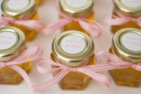 party favor labels small baby shower honey jar favor baby party favor