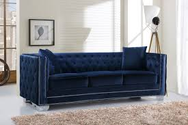 Chesterfields Sofa by Fitzgerald Velvet Chesterfield Sofa U0026 Reviews Allmodern