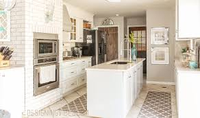 January Home Decor by Green With Decor U2013 Pretty White Kitchens