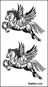 pegasus tattoo designs by skarbog on deviantart