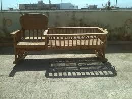 costruire sedia a dondolo sedia a dondolo con culla in vimini a altre zone kijiji
