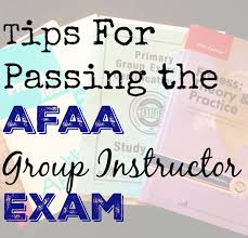 afaa group exercise certification study tips hungry hobby