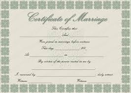 doc 764590 marriage certificate template u2013 flowers marriage