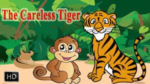 jataka tales careless tiger moral stories children