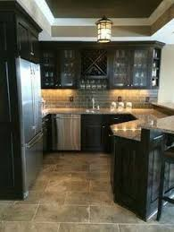 Backsplash Kitchen Ideas by Moon White Granite Dark Kitchen Cabinets Kitchen Ideas