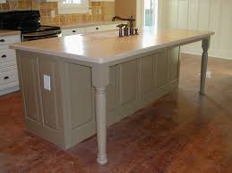 kitchen islands with legs kitchen island legs home design ideas