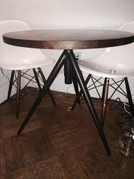 Round Bistro Table West Elm Round Adjustable Bistro Table From Krrb Local