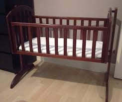 Obaby Crib Mattress Obaby Swinging Crib And Mattress Walnutby In Wishaw