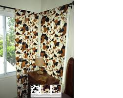 Cow Print Kitchen Curtains Cow Curtain Etsy