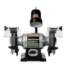 Used Bench Grinder For Sale Craftsman 9 21124 1 6 Horsepower 6 Inch Bench Grinder With Lamp