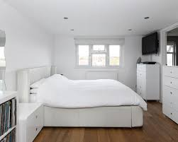 leather bed houzz