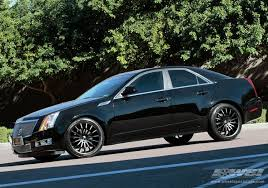 cadillac cts tire size 2011 cadillac cts with 20 giovanna martuni in black matte