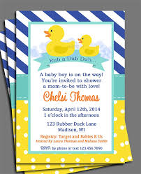 rubber duck baby shower invitations christmanista
