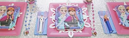 frozen party frozen party supplies birthday in a box party supplies decorations