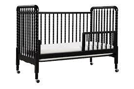 Black Convertible Crib Lind 3 In 1 Convertible Crib In Black Davinci Cribs