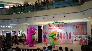 barney u0027s beach party at city square mall singapore part 3 youtube