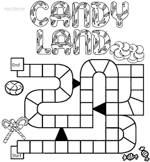 Printable Candyland Coloring Pages For Kids Cool2bkids Coloring Pages For Printable