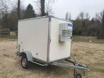 remorque chambre froide occasion remorques utilitaires frigorifiques en belgique pays bas
