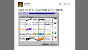 Microsoft Word Meme - instagram estos son los memes que se burlan de su nuevo logo