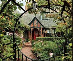 tudor style cottage home is where the heart is pinterest