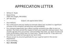 best 25 appreciation letter to ideas on new