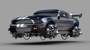 badass mustang these post apocalyptic cars are amazingly badass