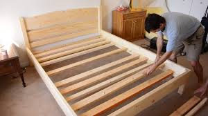 Build Platform Bed Frame Queen by Bed Frames How To Make Platform Bed With Storage Diy Bed Frame