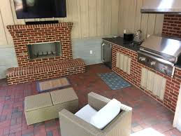 patio house is a mostly brick and part of outdoor expansion