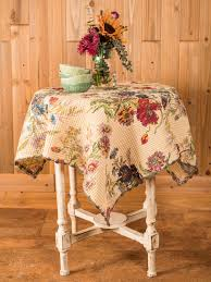 wildflowers waffle tablecloth linens u0026 kitchen tablecloths
