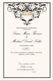 black wedding programs american wedding programs cultural symbols