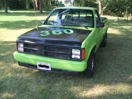dodge dakota v8 dodge dakota standard cab 1989 green for sale
