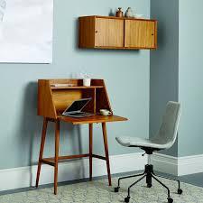 Small Mid Century Desk Mid Century Mini West Elm